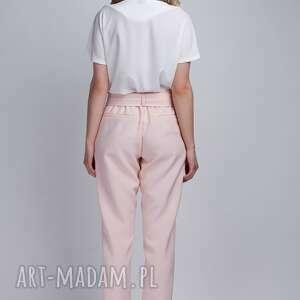 spodnie kokarda spodnie, sd109 róż