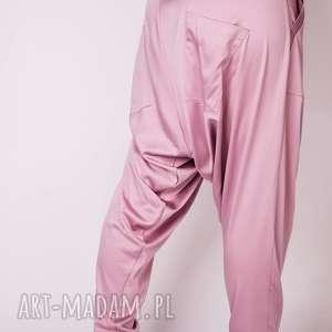 spodnie pumpy różowe alladynki