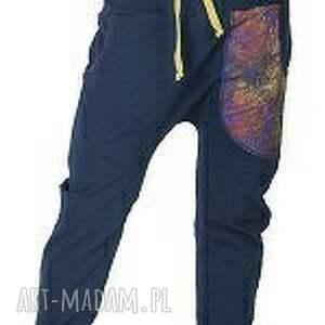 oryginalne spodnie dres s, m, l miedziana koronka