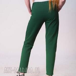 hand made spodnie fitness w kolorze zieleni