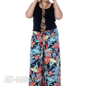 De La Fotta spodnie: Wyjątkowe designerskie 100% Bawełna, tylko 2 sztuki kwiaty