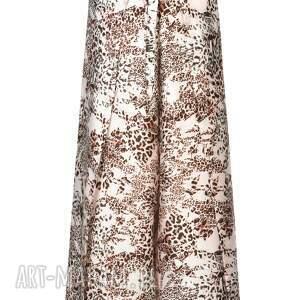 spodnie designerskie wyjątkowe, wiązane, centki