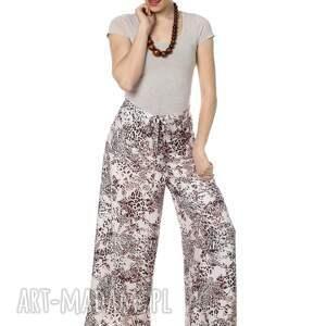 spodnie wyjątkowe, wiązane, centki