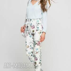 gustowne spodnie wstążka z szarfą, sd113 kwiaty