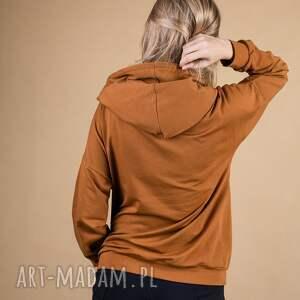 czarne sportowe bluza sportowa dres damski black and brown