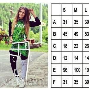 modny sportowe zielone dres z nadrukiem 3d buch