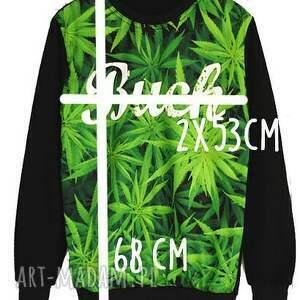 sportowe: modny dres z nadrukiem 3d buch marihuana trawka unikatowy