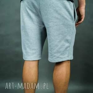 sportowe męskie spodenki dresowe city shorts