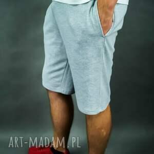 spodenki dresowe sportowe męskie city shorts