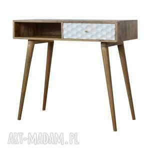 ręczne wykonanie stoły lite drewno biurko konsola z szufladą