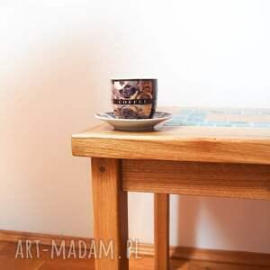 stoły dębowy stolik kawowy