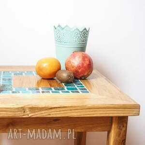 stoły kawowy dębowy stolik