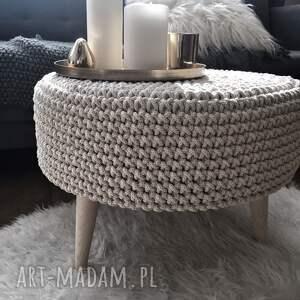stolik stoły skandynawski puf/ / taboret