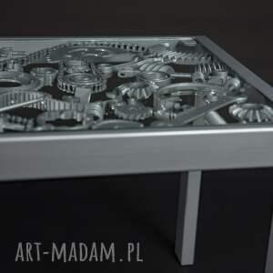 eleganckie stoły metalowy stół, ława industrialna
