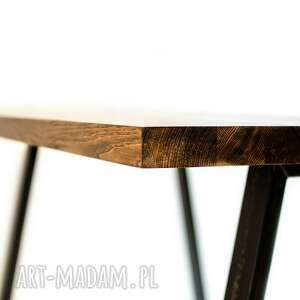 niepowtarzalne stoły stół mopene industrialny
