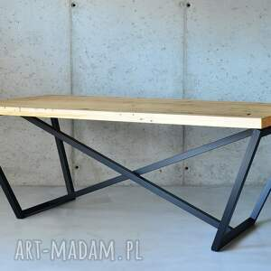 loft stoły czarne stół san ki 200 łódka