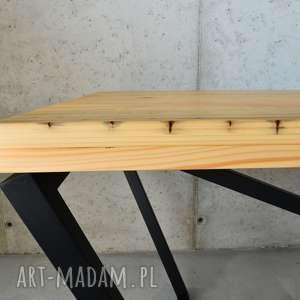 beżowe stoły nowoczesny stół san ki 200 łódka