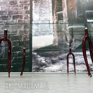 stoły rowerowy stół szklany forks