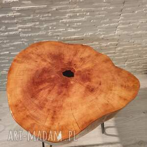hand made stoły stolik drewniany z żywicy