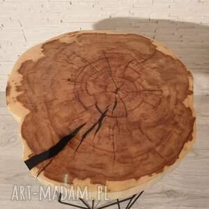 oryginalne stoły drewno stolik drewniany z żywicy