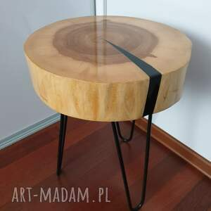 awangardowe stoły stolik kawowy z żywicy