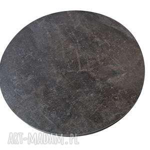 stoły kawowy stolik beton ciemny