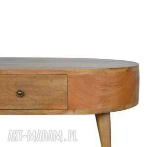 ręczne wykonanie stoły minimalizm stolik kawowy ława z szufladami