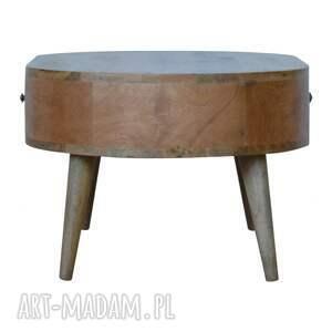 minimalizm stolik kawowy ława z szufladami