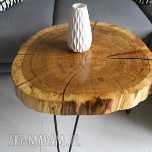 stoły design stolik kawowy plaster drewna