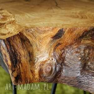 ciekawe stoły stolik kawowy, plaster drewna