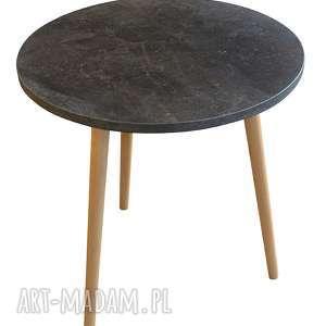 handmade stoły stolik kawowy beton ciemny