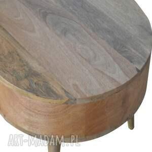 stoły minimalizm stolik kawowy ława z szufladami