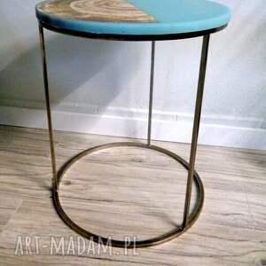 stoły żywica epoksydowa stolik kawowy topolowy