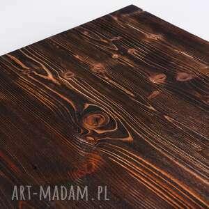 gustowne stoły minimalistyczny stolik okapi - drewno z upcyclingu