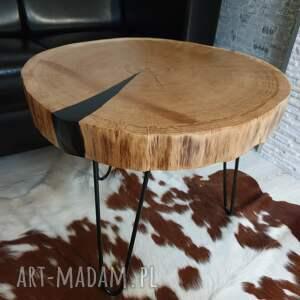 frapujące stoły stolik plaster drzewa dębu