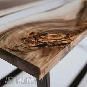 hand made stoły stolik z-orzecha z orzecha włoskiego -na