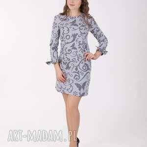 sukienki etno ana sukienka z wiązaniem przy