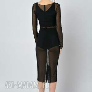 sukienki sukienka aronia - ołówkowa