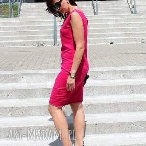 asymetryczna sukienki niezwykle kobieca sukienka dresowa z miękkiej