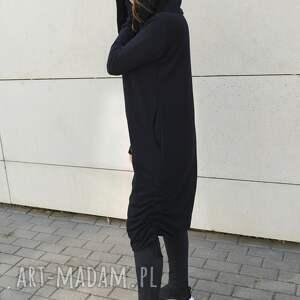 bluza sukienki asymetryczna sukienka