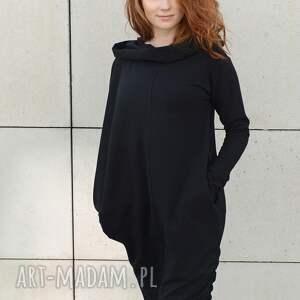 handmade sukienki sukienka asymetryczna bluza