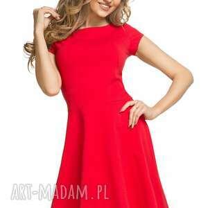 niebanalne sukienki sukienka bawełniana rozkloszowana
