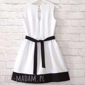 folk sukienki biała sukienka folkowa z parzenicą