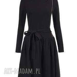sportowa sukienki bien fashion czarna sukienka
