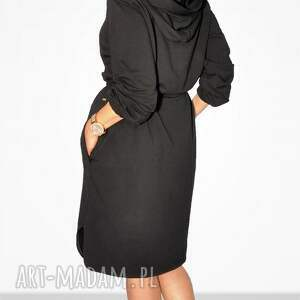 sukienki casual bien fashion czarna sukienka