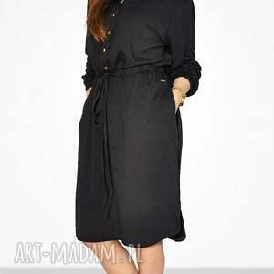 sukienki luxna bien fashion czarna sukienka