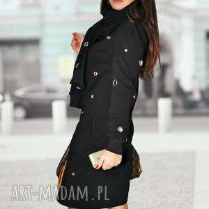 intrygujące sukienki midi bien fashion ciepła sukienka