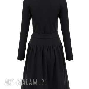 sukienki sportowa bien fashion czarna sukienka