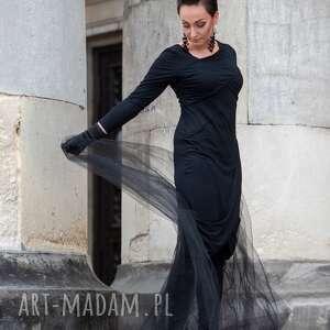 unikatowe sukienki boho sukienka black sea na jesień