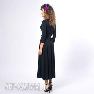Milita Nikonorov sukienki: Brigitte - black night - elegancka klasyczna